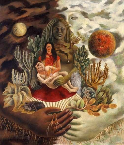 uno dei miei dipinti preferiti di Frida Kahlo. Un grande abbraccio!