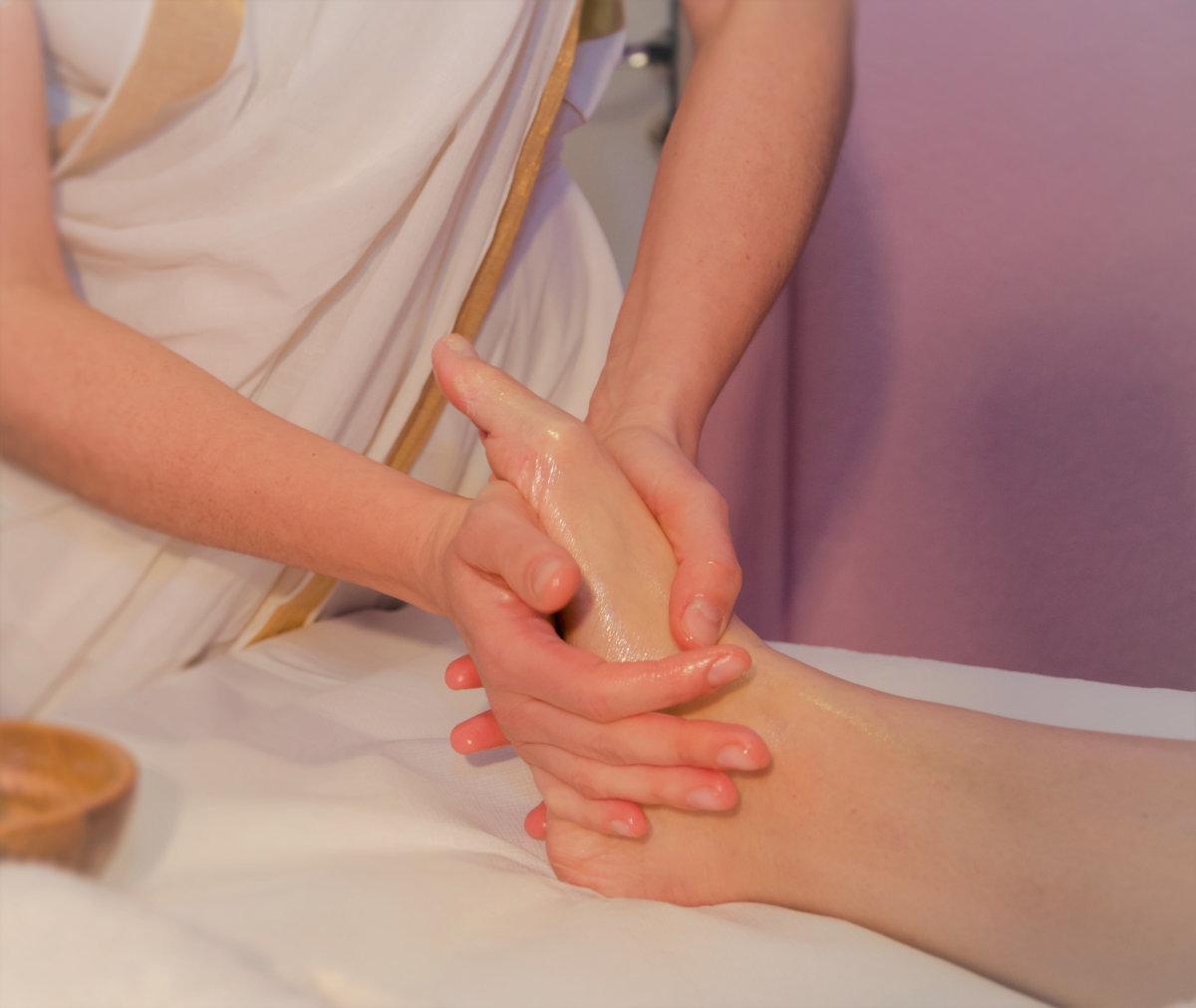 Padabhyangam massaggio ai piedi